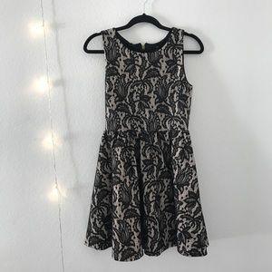 Elegant Edgy Laced Dress